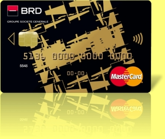 Plata prin card de credit emis de BRD Finance