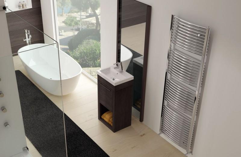 Exemplu montaj radiator port-prosop