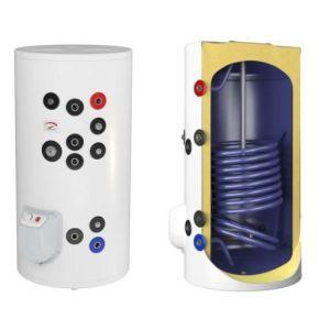 Boilere termoelectrice emailate cu o serpentina Eldom Green Line - 300 litri