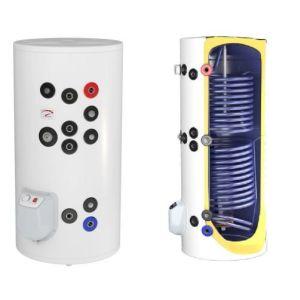 Boilere termoelectrice emailate cu doua serpentine Eldom seria Green Line - 150 litri