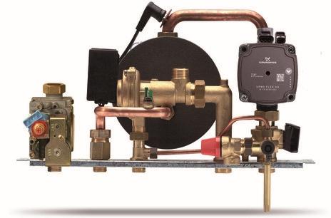Centrala termica pe gaz ARCA ECOFAST - grup hidraulic