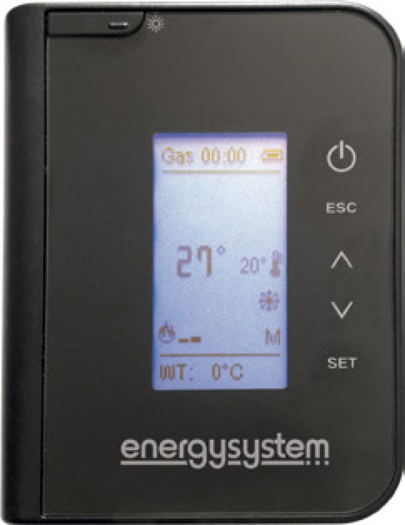 Termosemineu pe peleti tip insert Primo 30 - termostat si telecomanda