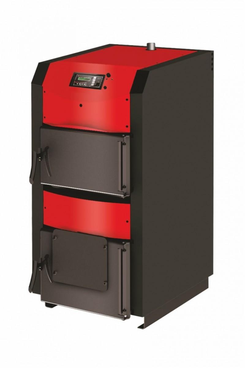 Centrala termica pe lemn cu semigazeificare BURNIT WBS Active 30 kW