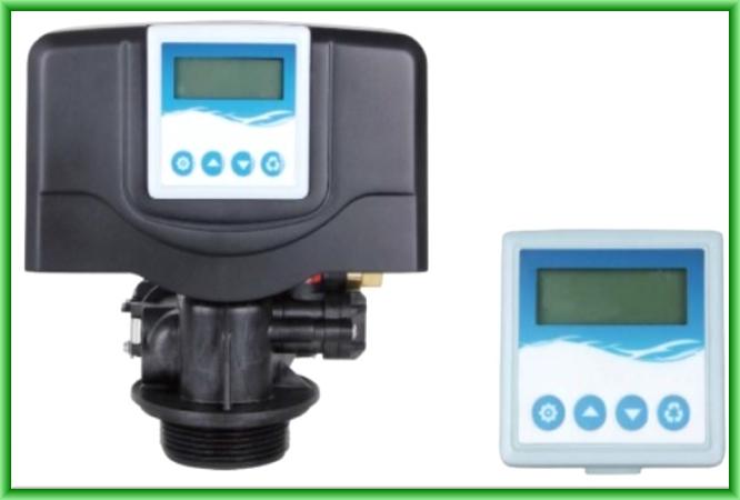 Statie de dedurizare apa tip cabinet Stillwater & Pratt STP-C25-VE14M - panou de comanda