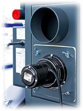 Centrala termica pe lemn cu gazeificare ATMOS DC25S 25 kW - ventilator de exhaustare