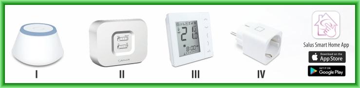 Pachet Start Salus Smart Home iT600 - ordinea de instalare