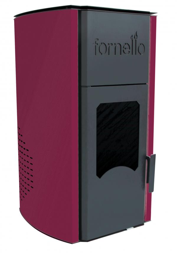 Termosemineu pe peleti FORNELLO ROYAL 25 kW