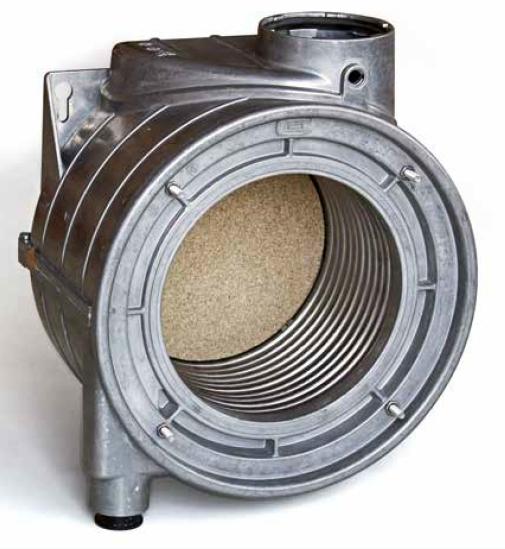 Centrala termica pe gaz in condensatie combi ARCA PIXEL MX PN - schimbator de caldura