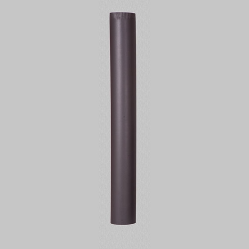 Burlan din tabla de otel de culoare neagra 1 m