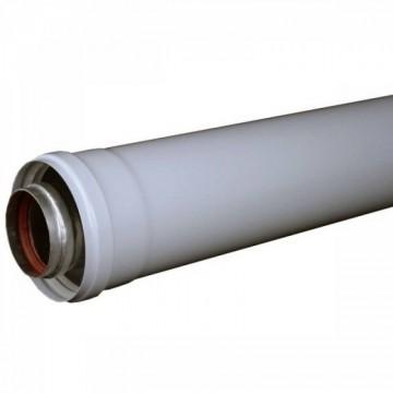 Poza  Prelungire pentru centralele termice cu tiraj fortat (conventionale) DN=60/100 mm; 0,5 m