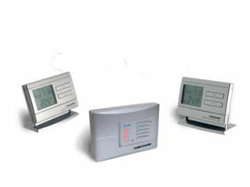 poza Termostat Computherm Q8 RF ambiental fara fir wireless cu doua termostate programabile individual