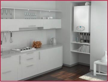 Poza Centrala termica condensatie Ariston Clas B Premium Evo - exemplu de montaj