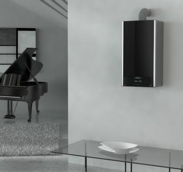 Poza CENTRALA TERMICA IN CONDENSATIE ARISTON ALTEAS ONE exemplu de montaj camera