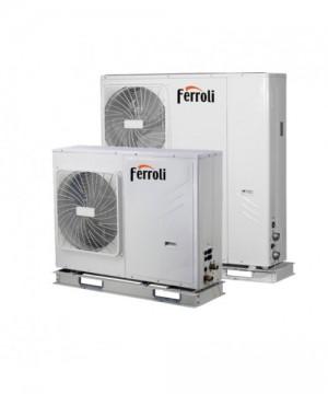 poza Pompa de caldura aer-apa reversibila Ferroli RVL-I PLUS 14 T 14 kW