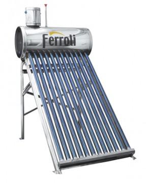 poza Panou solar Ecosole cu 12 tuburi vidate si boiler nepresurizat 120 L
