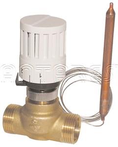 poza Robinet termostatat pentru boiler apa calda cu 2 cai DN25 mm
