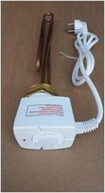poza Rezistenta electrica trifazata 3 KW cu termostat