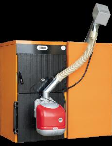 poza 9622 Lei Centrala termica pe peleti si lemn de fonta Ferroli SFL 5 - 36 kW - 6 ani garantie!