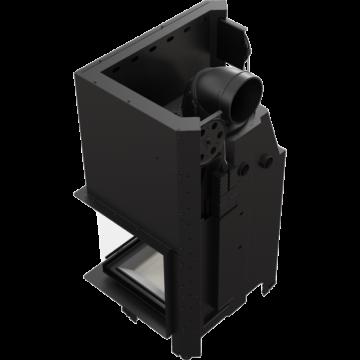 Poza Semineu pe lemn tip insert cu deschidere verticala MBZ13-PBSG 13 kW