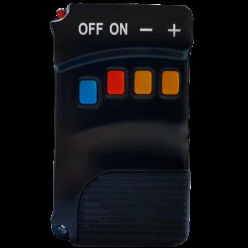 Poza Centrala termica pe peleti FORNELLO KING 35 kW - telecomanda