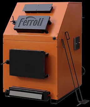 poza 12650 Lei Centrala termica pe lemn Ferroli FSB 3 MAX- 150 cu trei drumuri de fum