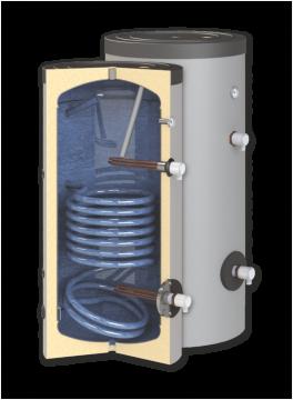 poza Boiler de apa calda cu acumulare SUNSYSTEM SN 500 1S