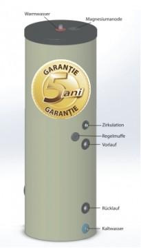 poza Boiler pentru preparare apa calda cu o serpentina AUSTRIA EMAIL HT 200 ERM