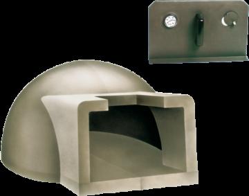 poza Cuptor pe lemne pentru paine prefabricat CLAM F90