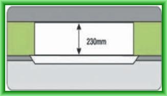 Poza Echipament de climatizare comerciala CHIGO CASETA DC-INVERTER - inaltime redusa = 230 mm