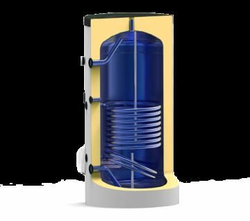 Poza Boiler termoelectric emailat cu o serpentina Eldom Green Line - 750 litri - sectiune