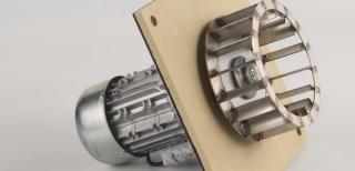 Poza Centrala termica pe peleti CalorCaldaie ECOGEN - ventilator de tiraj