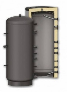poza Puffer fara serpentina SUNSYSTEM P3000 3000 litri