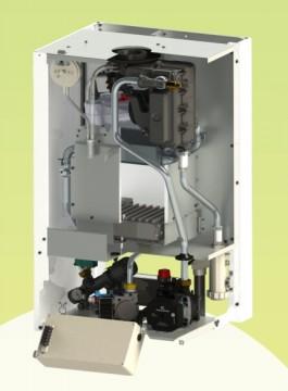 Poza Centrala termica pe gaz in condensatie Motan Green 24 - 24 kW - vedere interioara (sectiune)