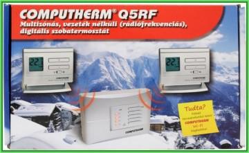 poza Termostat centrala termica Computherm Q5RF wireless, neprogramabil, pana la 4 zone