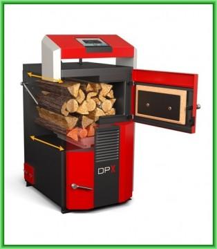 Poza Centrale termice pe lemn cu gazeificare ATACK DPX - sectiune camera de gazeificare