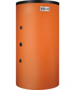 poza 5166 Lei REZERVOR DE ACUMULARE COMBINAT (PUFFER) TIP TANK-IN-TANK FERROLI FB-T2 600 cu doua serpentine, capacitate 600/150 litri