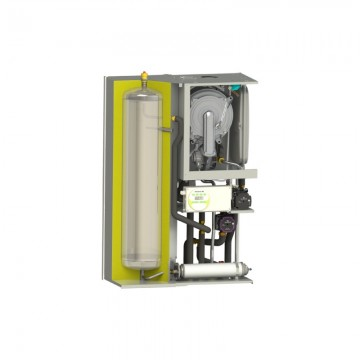 Poza Centrala termica Motan MKDens 35 BA Plus cu boiler inox 40 litri - vedere interioara