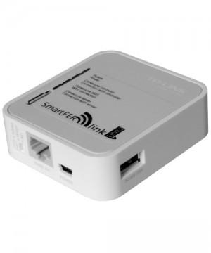 Poza Modul de conectare la internet SmartFer-link vedere mufe de racordare