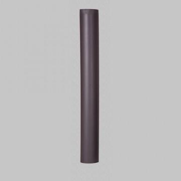 poza 29 Lei Burlan din tabla de otel de culoare neagra 1 m