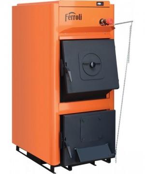poza 3350 Lei Centrala termica pe lemn Ferroli FSB PRO - 25 kW - NOU !